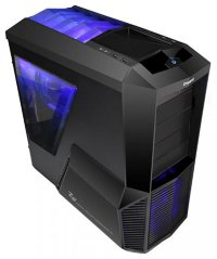 Miditower ZALMAN < Z11 Plus > Black ATX без БП, с окном
