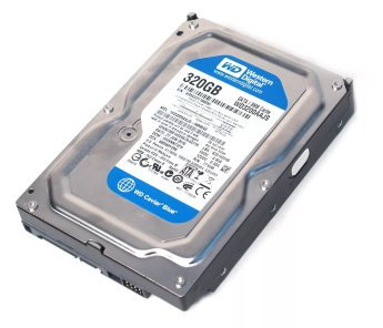 "3.5 SATA  320 Gb SATA-II 300 Western Digital Caviar Blue < WD3200AAJS > 3.5"" 7200rpm 8Mb"