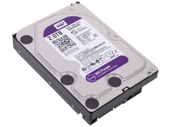 Жесткий диск 2Tb Western Digital Purple WD20PURX