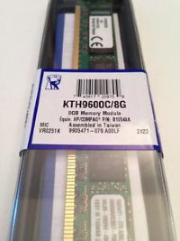 8GB Kingston KTH9600C/8G - Module - DDR3 1600MHz RTL