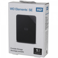 Жесткий диск 1Тб WD Elements SE USB3.0 WDBEPK0010BBK-WESN