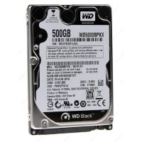 Жесткий диск 500Gb SATA Western Digital Black WD5000BPKX 2.5""