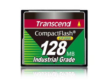 128MB карта памяти Compact Flash Transcend Industrial High Speed