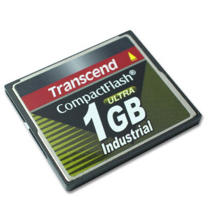 1GB карта памяти Compact Flash Transcend Industrial High Speed