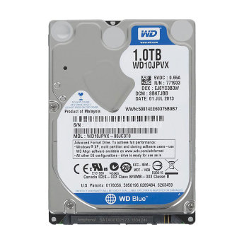 "Жесткий диск 1Tb Western Digital Blue WD10JPVX 2.5"" 5400rpm 8Mb"