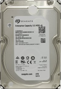 "4 Tb SATA 6Gb / s Seagate Enterprise Capacity ST4000NM0035 3.5"" 7200rpm 128Mb"