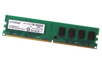 2Gb  Crucial DIMM  PC2-6400 800MHz ( CT2566AA800 )