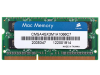 Оперативная память 4Gb Corsair CMSA4GX3M1A1066C7 DDR3 1066 SO-DIMM