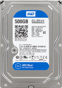 "500 Gb SATA 6Gb / s Western Digital Blue WD5000AZLX 3.5"" 7200rpm 32Mb"