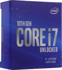 Процессор Intel Core i7-10700K BOX 3.8 GHz / LGA1200