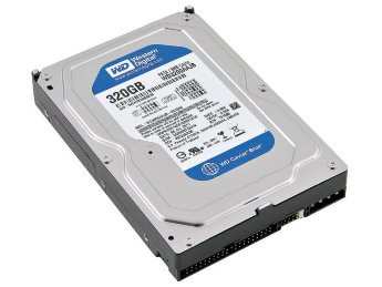 Жесткий диск 320Gb IDE Western Digital Caviar Blue WD3200AAJB 3.5""