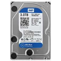 "3 Tb SATA 6Gb / s Western Digital Blue < WD30EZRZ > 3.5"" 5400rpm 64Mb"