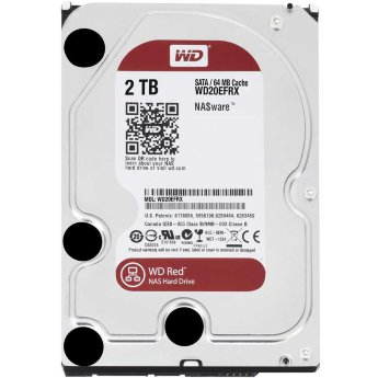 "Жесткий диск 2 Tb SATA Western Digital Red WD20EFRX 3.5"" 5400rpm 64Mb"