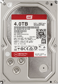 "Жесткий диск 4Tb Western Digital Red Pro WD4002FFWX 3.5"" 7200rpm 128Mb"