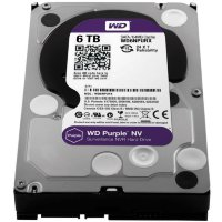 "6 Tb SATA 6Gb / s Western Digital Purple NV WD6NPURX 3.5"" 64Mb"
