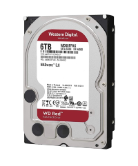 Жесткий диск 6TB  Western Digital WD Red WD60EFAX