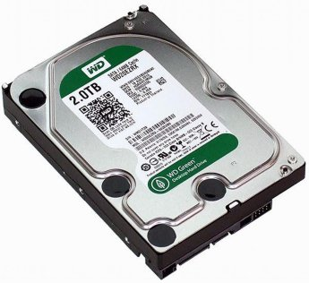 Жесткий диск 2Tb Western Digital WD20EZRX Green 3.5""