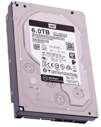 Жесткий диск 6Tb Western Digital WD Black WD6003FZBX 3.5