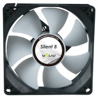 Кулер для корпуса GELID Silent 8 80x80x25mm, 1600rpm
