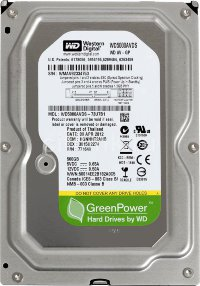 "Жесткий диск 500Gb SATA-II Western Digital AV-GP WD5000AVDS 3.5"" 32Mb"