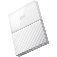 "Внешний жесткий диск 4Tb WD WDBUAX0040BWT My Passport 4Tb White 2.5"" USB 3.0"