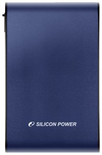 "500Gb Silicon Power < SP500GBPHDA80S3B > Armor A80 Blue USB3.0 Portable 2.5"" HDD 500Gb EXT (RTL)"