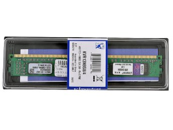 4Gb  Kingston DIMM  PC3-10600 1333MHz (KVR13N9S8/4) Low Profile