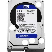 "Жесткий диск 6Tb Western Digital Blue WD60EZRZ 3.5"" 64Mb"