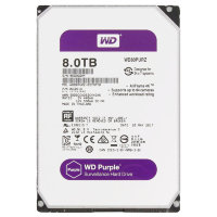 "8 Tb SATA 6Gb / s Western Digital Purple WD80PURZ 3.5"" 5400rpm 128Mb"