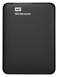 "Внешний жесткий диск 500Gb WDBUZG5000ABK-EESN Elements Portable 2.5"" USB3.0"