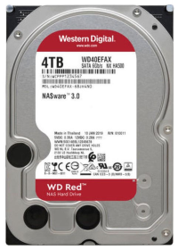 "Жесткий диск 4Tb SATA Western Digital Red WD40EFAX 3.5"" 5400rpm 256Mb"
