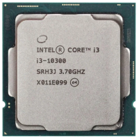 Процессор Intel Core i3-10300 3.7 GHz / 4core / SVGA UHD Graphics630 / 6Mb / 65W / 8 GT / s LGA1200