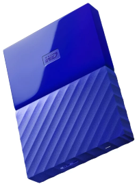 Внешний жесткий диск Western Digital My Passport 2TB Blue WDBUAX0020B