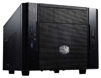 mITX Cooler Master < RC-130-KKN1 > Elite 130 Black&Black Mini-iTX Без БП