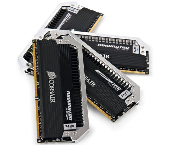 Corsair Dominator Platinum < CMD16GX3M4A2400C9 > DDR3 DIMM 16Gb KIT 4*4Gb < PC3-19200 >