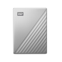 Внешний жесткий диск 2Tb WD WDBKYJ0020BSL My Passport Ultra Silver for MAC USB 3.0 Type-