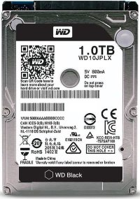 Жесткий диск 1 TB Western Digital WD Black WD10JPLX 2.5""
