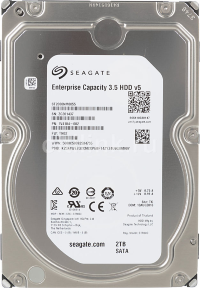"Жёсткий диск HDD 2Tb SATA Seagate Enterprise Capacity ST2000NM0055 3.5""7200rpm 128Mb"