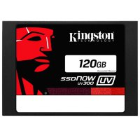 "120 Gb SATA 6Gb / s Kingston SSDNow UV300 Series SUV300S37A/120G 2.5"" TLC"
