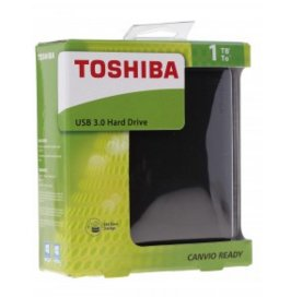 Внешний жесткий диск 1Tb Toshiba Canvio Ready HDTP210EK3AA Black USB3.0 2.5""