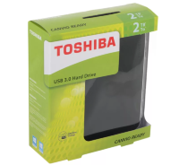 Внешний жесткий диск 2Tb Toshiba Canvio Ready HDTP220EK3CA Black USB3.0 2.5""