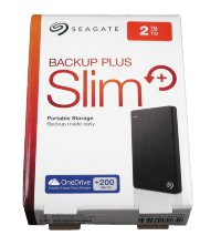 "2Tb Seagate Backup Plus Slim STDR2000200 USB3.0 Black 2.5"" EXT RTL"