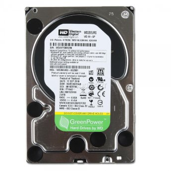 "Жесткий диск 2Tb Western Digital AV-GP WD20EURS 3.5"" 64Mb"