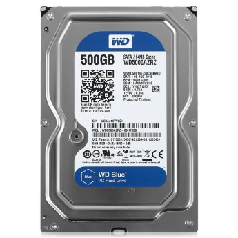 Жесткий диск 500Gb SATA Western Digital Blue WD5000AZRZ 3.5""