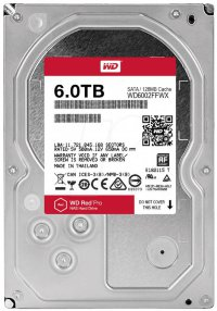 "3.5 SATA 6 Tb SATA 6Gb / s Western Digital Red Pro < WD6002FFWX > 3.5"" 7200rpm 128Mb"