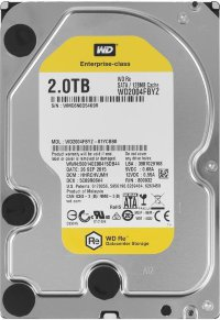 "Жесткий диск 2Tb SATA Western Digital RE WD2004FBYZ  3.5"" 7200rpm 128Mb"