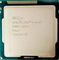 Intel Core i3-3240T 2.9 GHz / 2core / SVGA HD Graphics 2500 / 0.5+3Mb / 55W / 5 GT / s LGA1155
