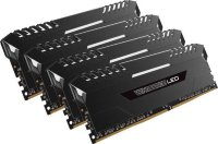Corsair Vengeance LED < CMU32GX4M4A2666C16 > DDR4 DIMM 32Gb KIT 4*8Gb < PC4-21300 >