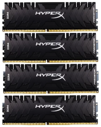 Оперативная память 32Gb Kingston HyperX Predator HX432C16PB3K4/32 4*8Gb