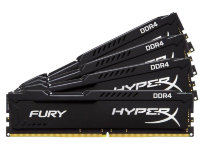 32Gb Kingston HyperX Fury HX424C15FBK4/32 DDR4 DIMM KIT 4*8Gb PC4-19200 CL15
